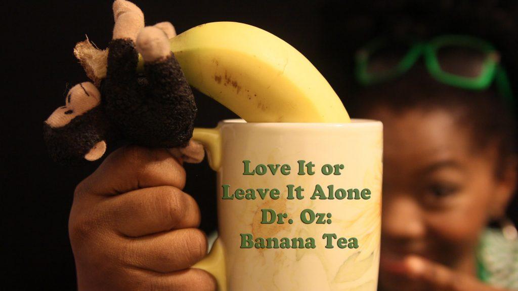 Banan-te är väldigt effektivt hjälpmedel – kolla in hur du gör
