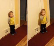 Tvååringen är jättearg på sin mormor. När hon förklarar varför kan vi inte sluta skratta!
