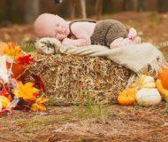 Mamman skulle precis fotografera sin bebis då plötsligt någon väldigt oväntad kliver in i bilden!